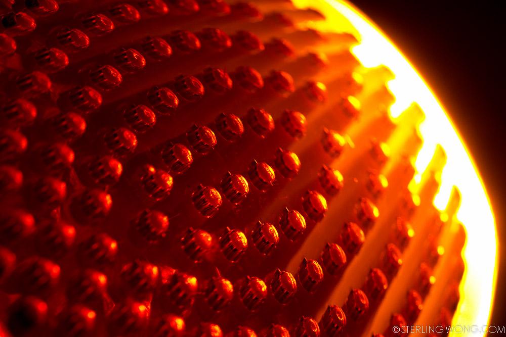 Abstract Orange Flare